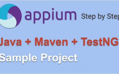 Mobile App Tests Automation Using Appium & Java